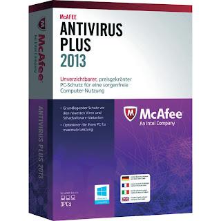 latest McAfee Antivirus 2013 free download