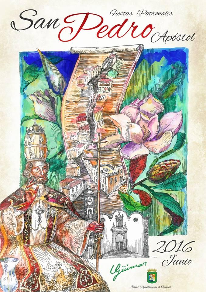Programa de las Fiestas Patronales en honor a San Pedro Apóstol. Pincha en el enlace