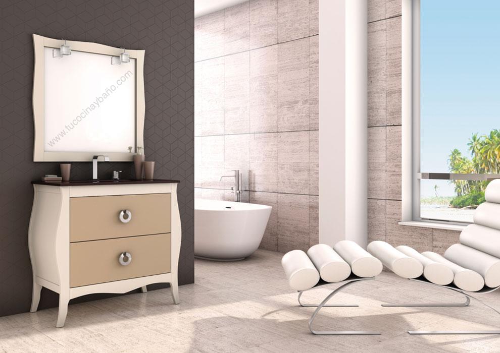 Mueble de ba o vintage mozart tu cocina y ba o - Mueble bano vintage ...