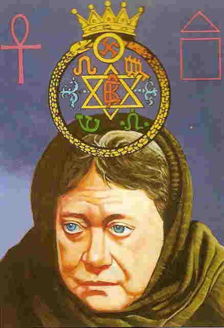 Como se origino la Sociedad Teosofica Retrato+Madame+Blavatsky