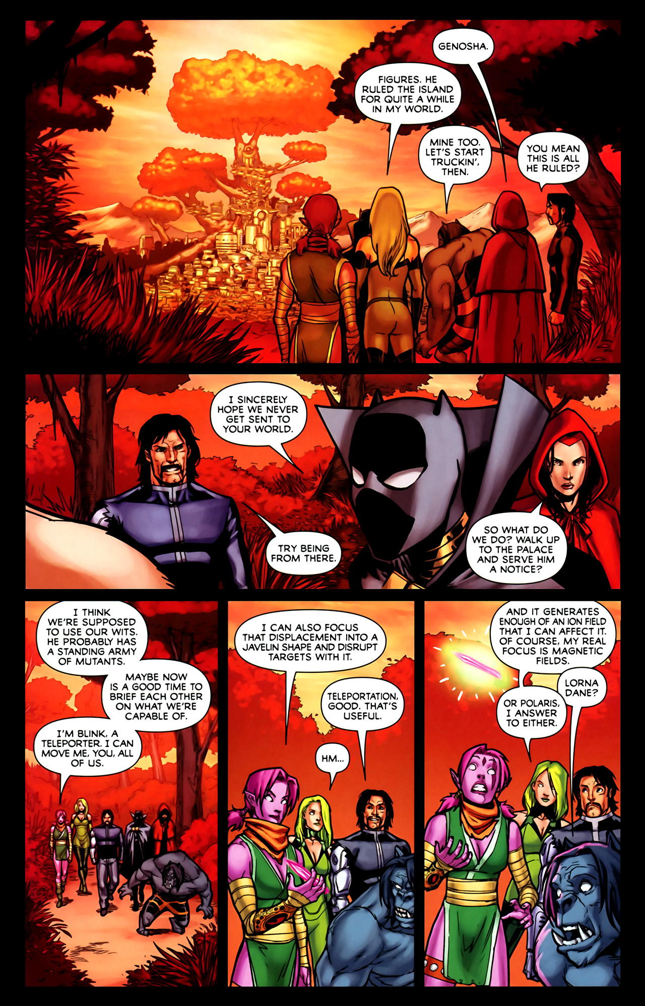 Read online Exiles (2009) comic -  Issue #1 - 22