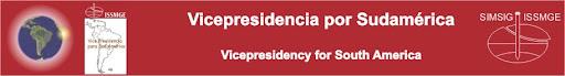 Vicepresidencia por Sudamérica - SIMSIG Vicepresidency for South America - ISSMGE