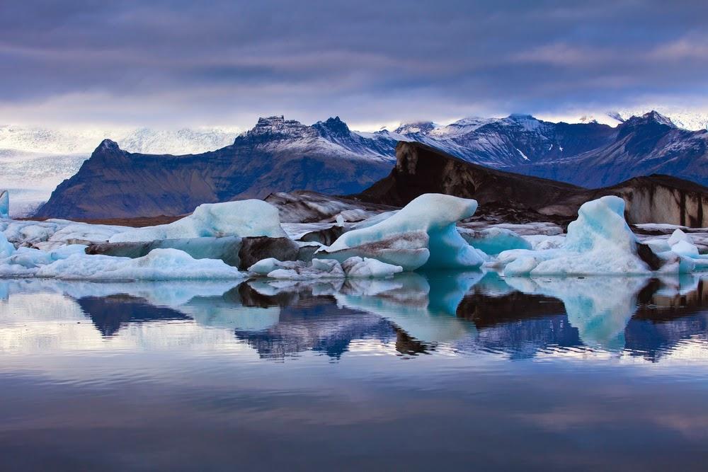 Vatnajokull, Island