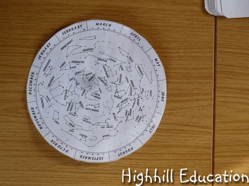Highhill Homeschool Astronomy For Kids Week Star Map - Printable star map