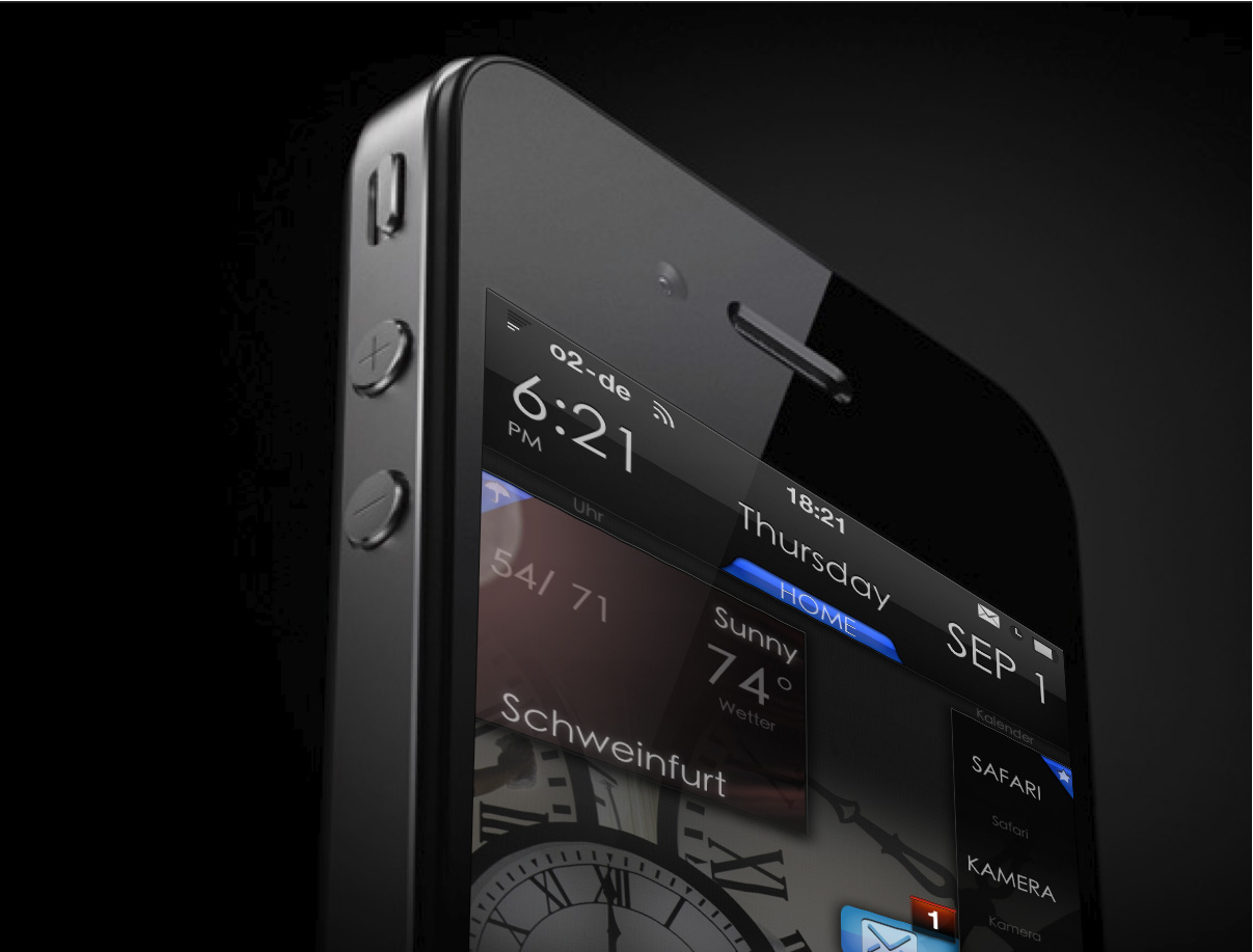 iPhone theme equiX HD v1.2 ~ Modern Smartphone - Unleash the power of ...
