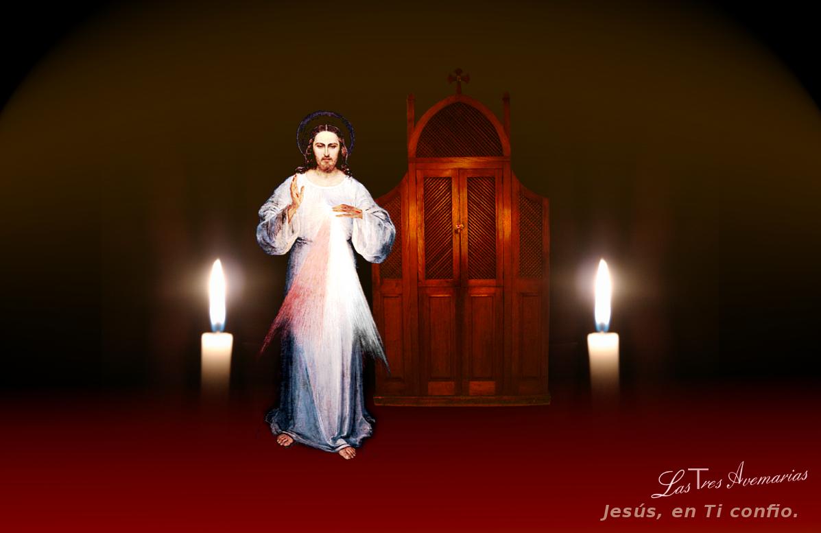 jesus en la confecion