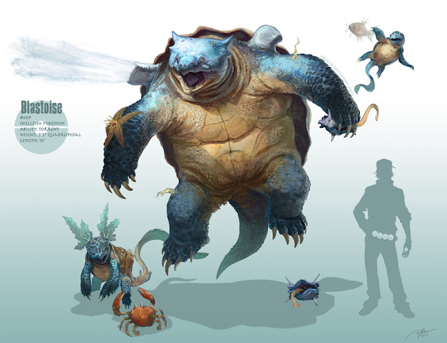 pokemon, Blastoise