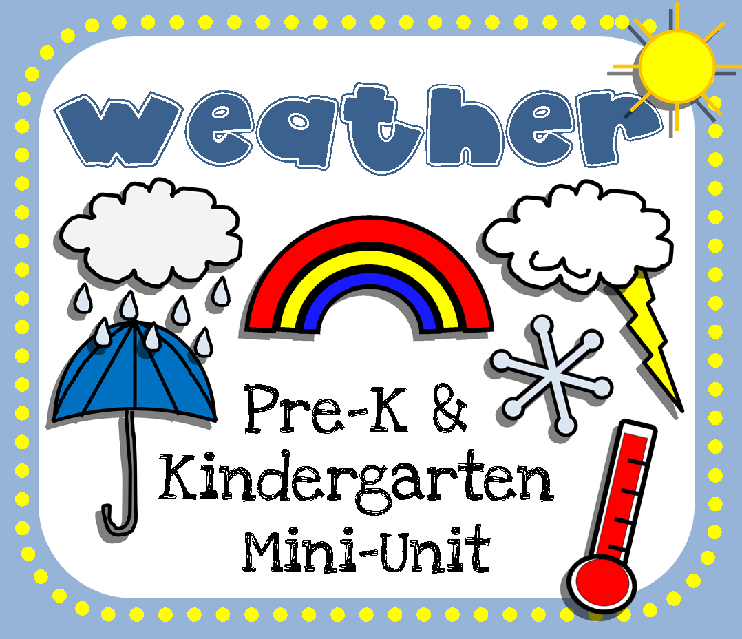 Weather Pre K Printables on weather clouds worksheets