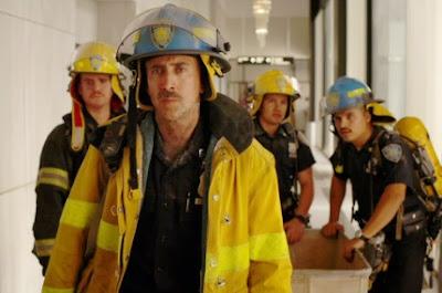 El equipo liderado por Nicolas Cage en la película World Trade Center