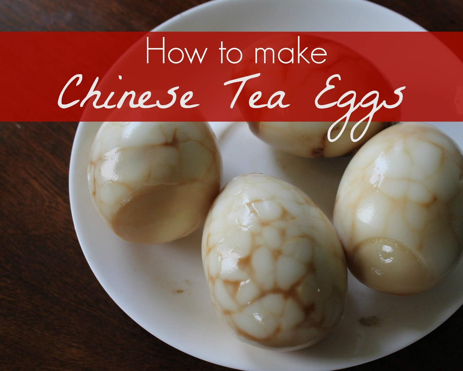 Marie's Pastiche: Recipe: Chinese Tea Eggs