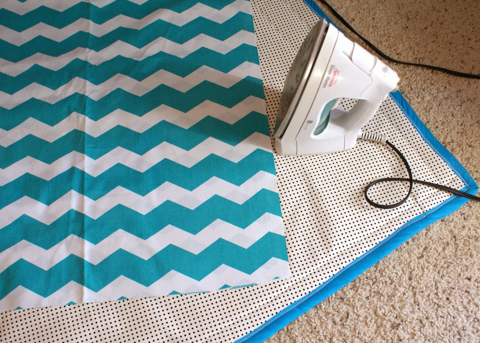 I Finally Decided I Was Going To Make My Own Ironing Pad Because Itu0027s Just  Not Practical To Have A Large, Permanent Table Taking Up Space In My House.