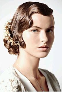 Peinados de Novia Vintage, parte 2
