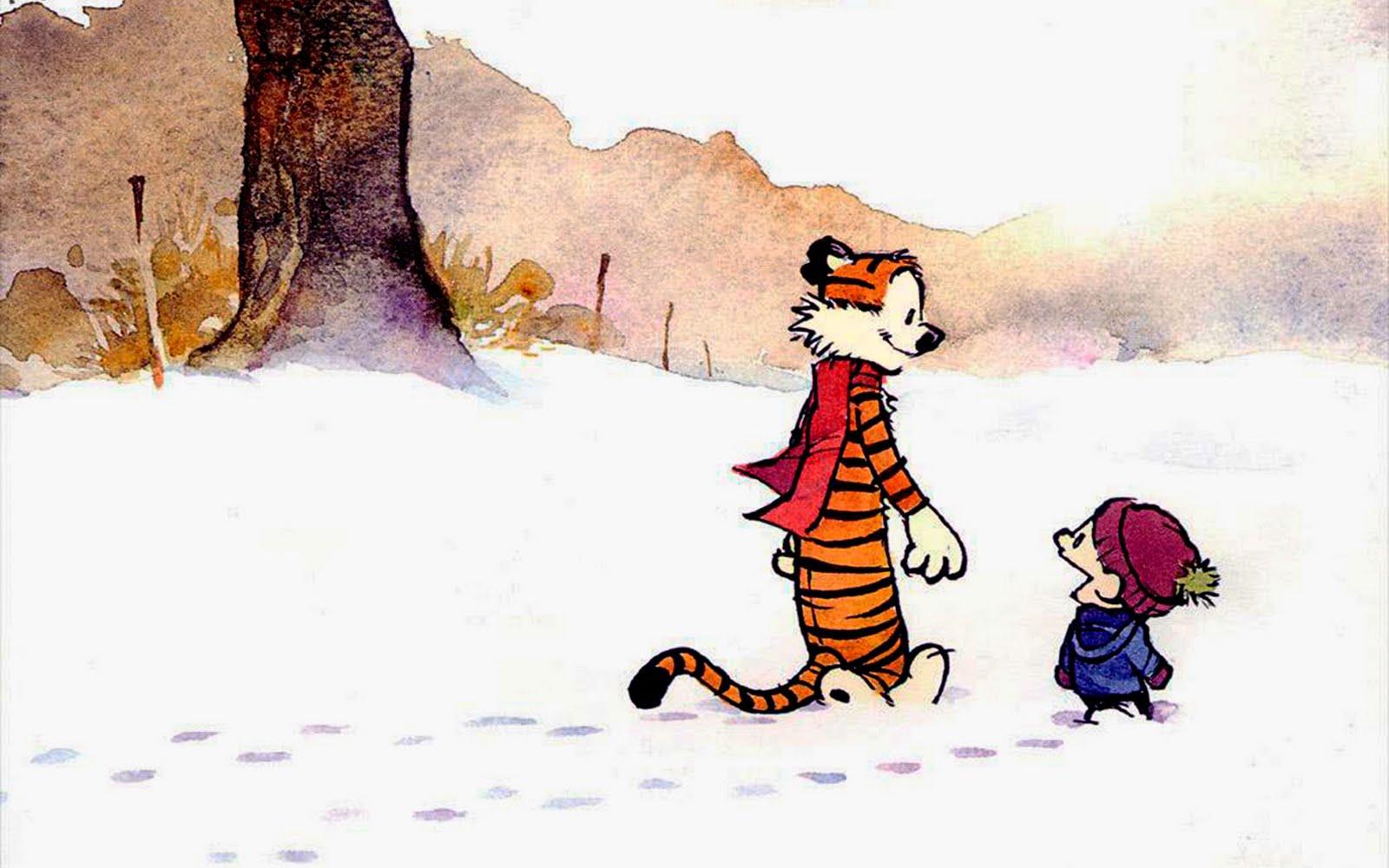 Calvin and Hobbes Cute Cartoon HD Wallpapers ~ Cartoon ...