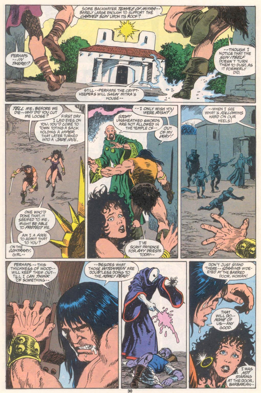Conan the Barbarian (1970) Issue #255 #267 - English 23