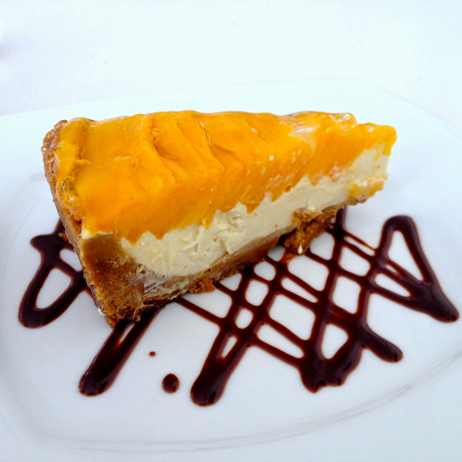 Butterbean Desserts and Cafe 's Mango Cream Pie