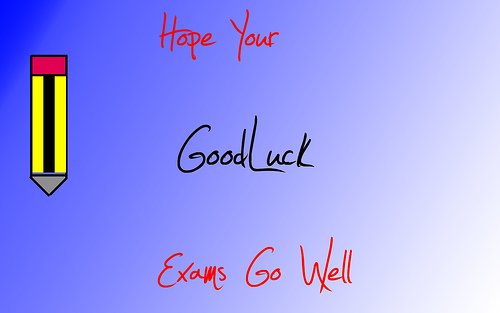 exams are one of the hardest and difficult things in ones life but you are an intelligent boy and will do in a best way wish you best of luck for your
