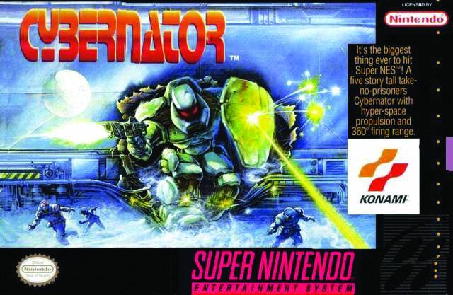 LOADING - Cybernator. Mechas de lujo en Super Nintendo