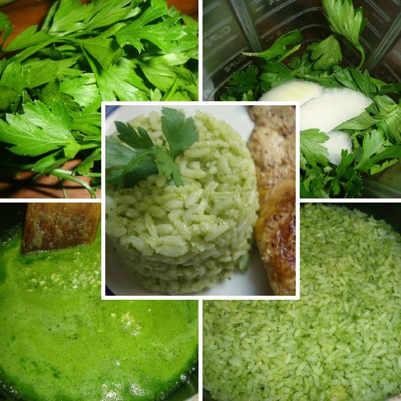 arroz con perejil