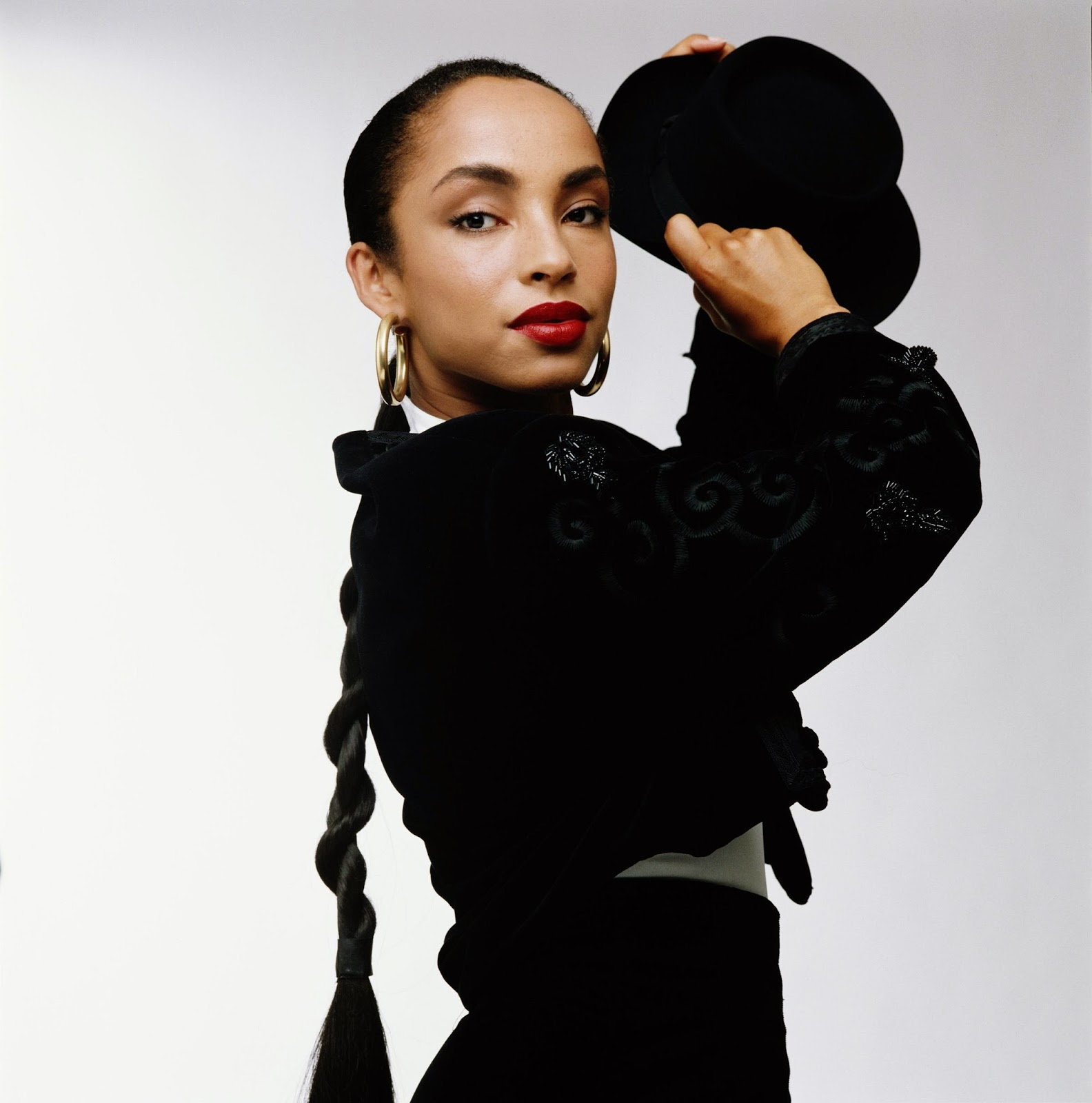 Model Symon Leone just did a Sade-inspired shoot and the