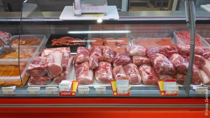 Мясо в Черногории