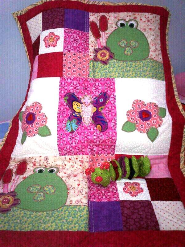 Boulevard del patchwork colchas infantiles de patchwork - Telas con motivos infantiles ...