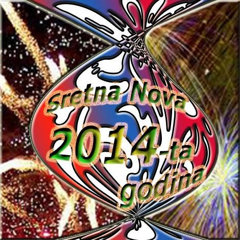 čestitka za Novu 2014-tu godinu
