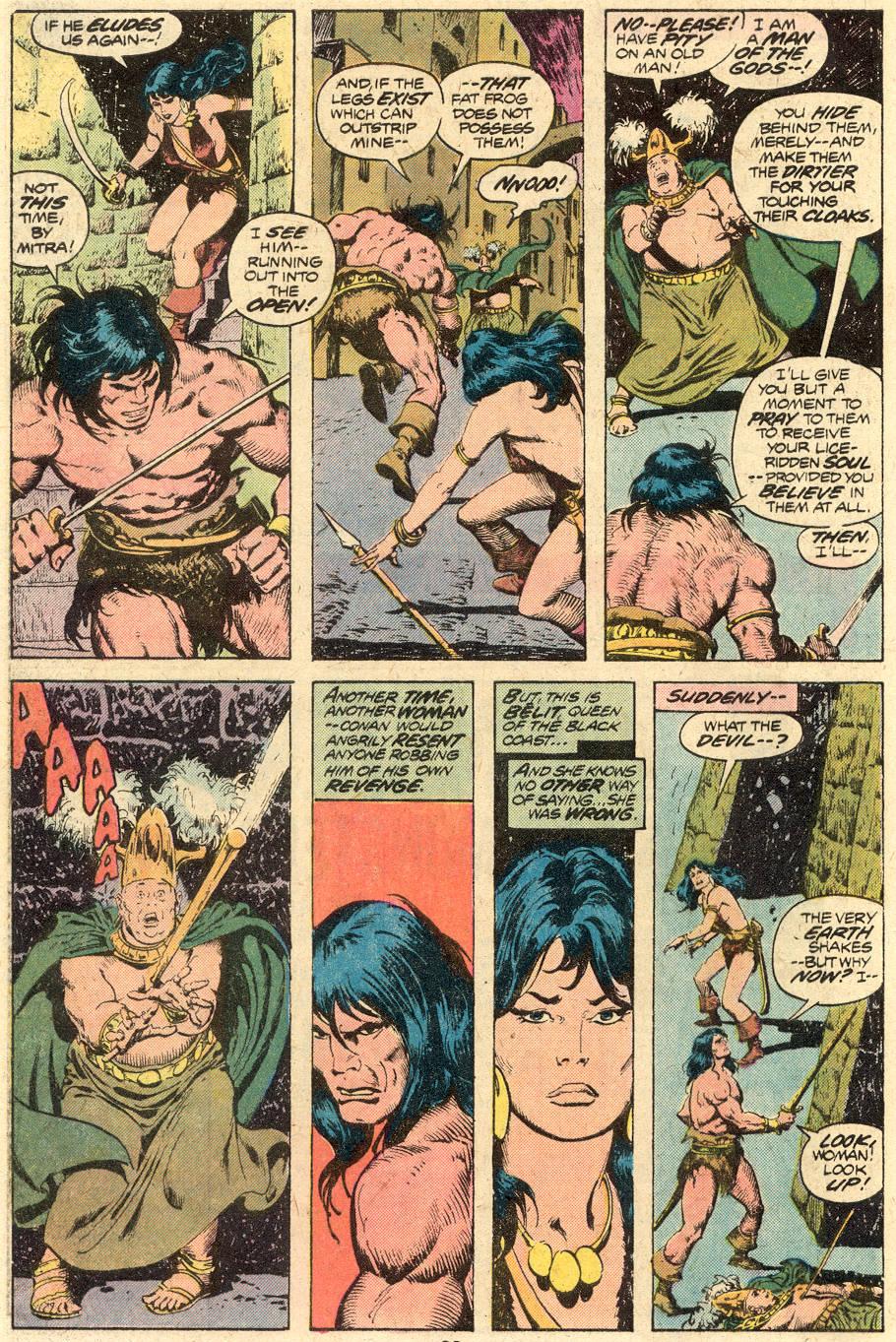 Conan the Barbarian (1970) Issue #71 #83 - English 15