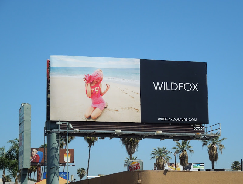 Wildfox beach billboard