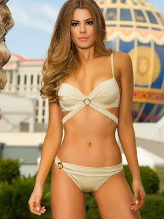 Miss Colombia 2015, Ariadna Gutierrez bikini