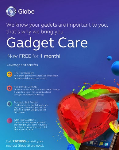 Globe Gadget Care, Globe Telecom
