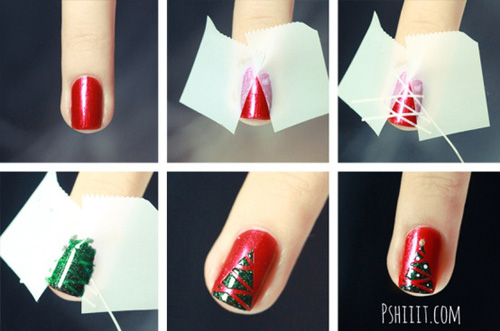 Blog de barbieprincess : Barbie Princess, Dicas de nail art para o natal!