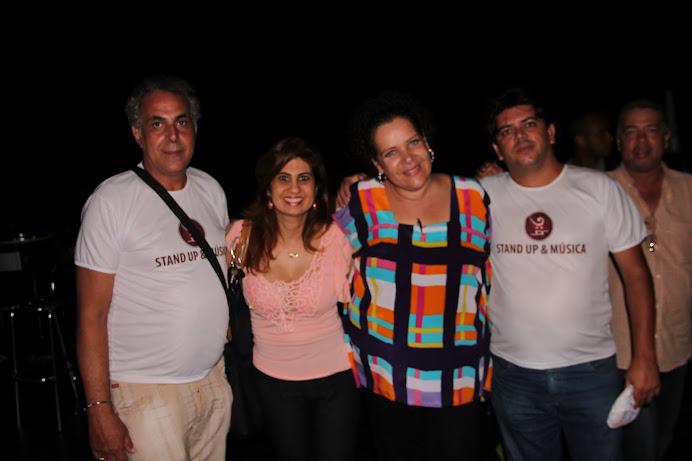 Anselmo Vasconcelos do Zorra Total, apadrinhando o NTN e o show de Stand Up e Musica.