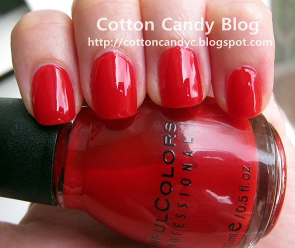 Sinful Cotton Candy Nail Polish: Cotton Candy Blog: Sinful Colors Ruby Ruby