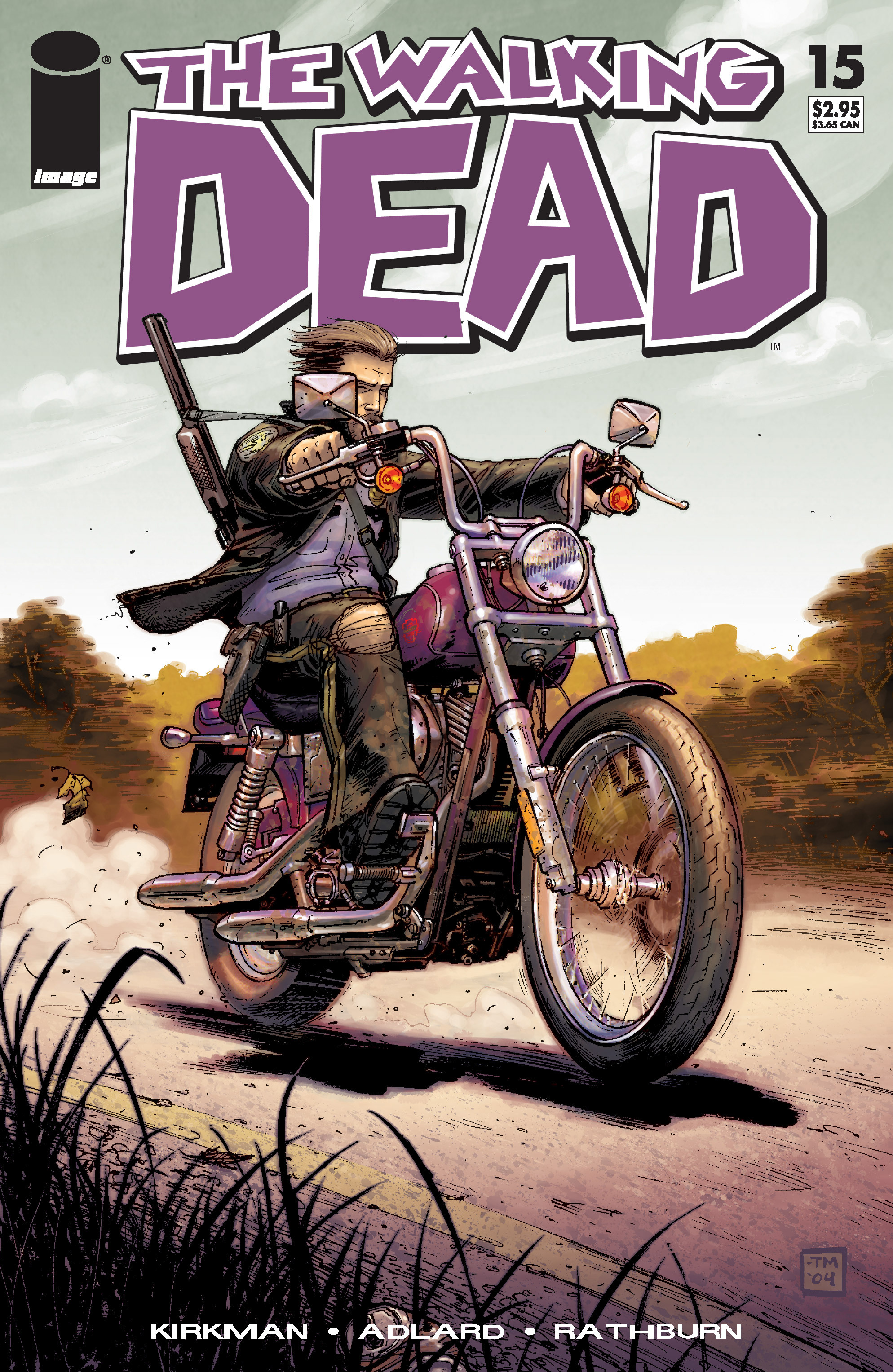 The Walking Dead Issue #15 Page 1