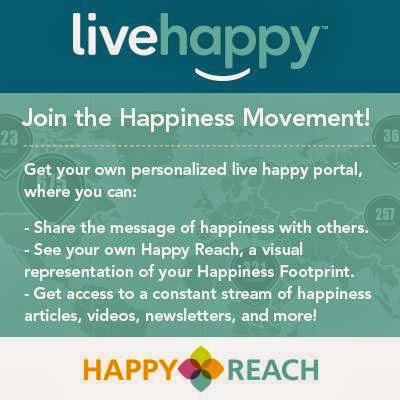 Join the happiness movement! Go to: cindyrowe.mylivehappy.com to join for FREE!