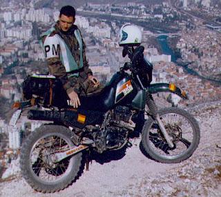 Juan Carlos Toribio en los Balcanes