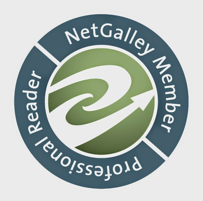 NetGalley Badge Indicating NetGalley Membership and Status as a Professional Reader.