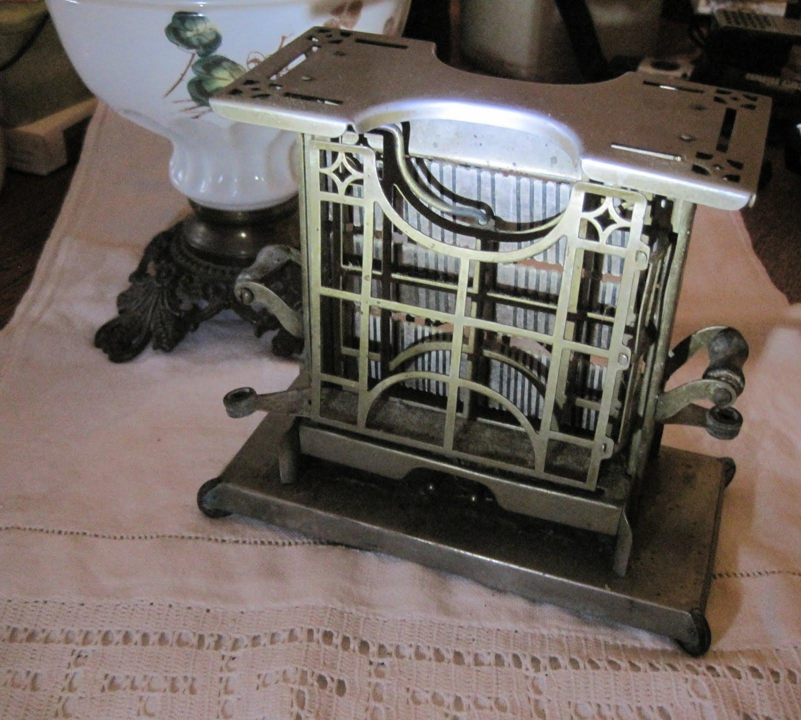 Ella Mae's: Antique Toaster