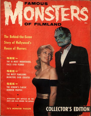 Famous Monsters Of Filmland first issue