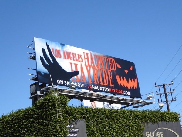 LA Haunted Hayride 2015 billboard