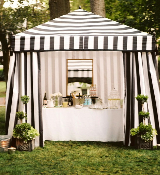 But where oh where did this tent come from? & vignette design: My Tent Obsession
