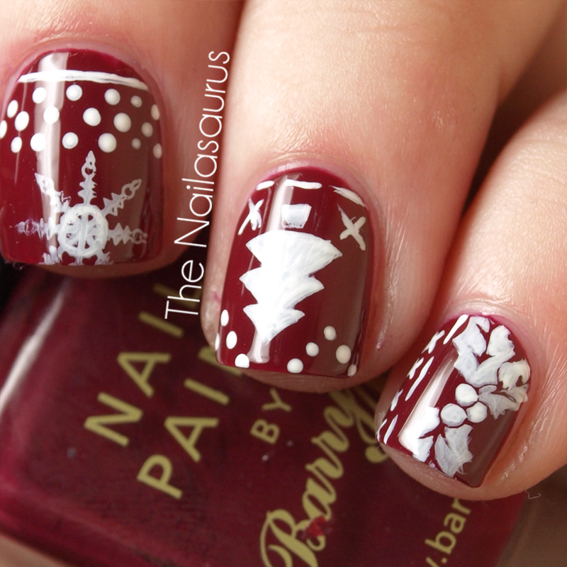 12 Days of Christmas Nails: Day 5… This Old Thing