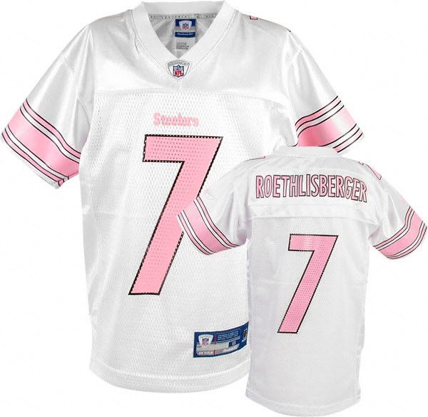 womens pink steelers jersey