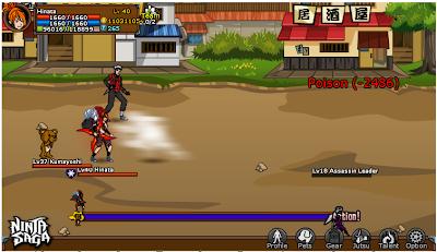 Cheat Ninja Saga Terbaru 2012
