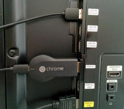 Chromecast am TV anschließen