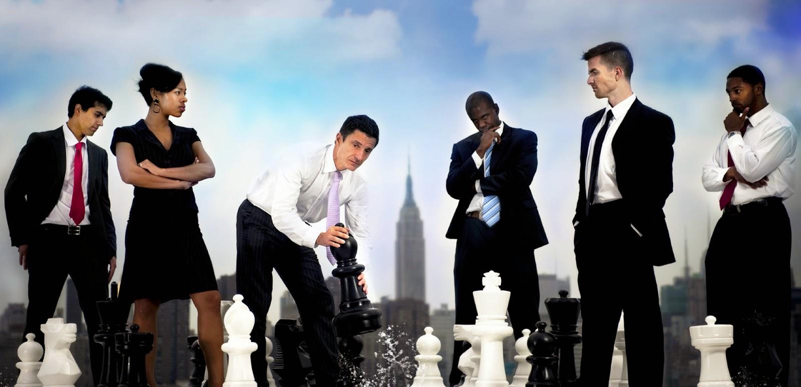memenangkan persaingan dalam bisnis, menghadapi kompetitor bisnis