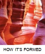 HOW ANTELOPE CANYON FORMED