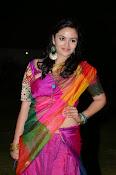 Malavika nair photos in half saree-thumbnail-10