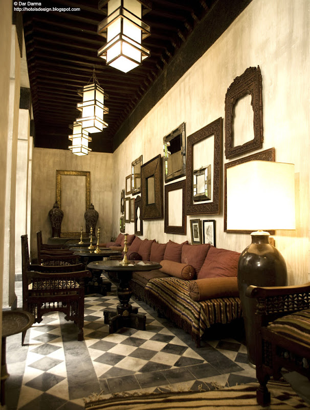 Les plus beaux hotels design du monde riad dar darma for Hotel design marrakech