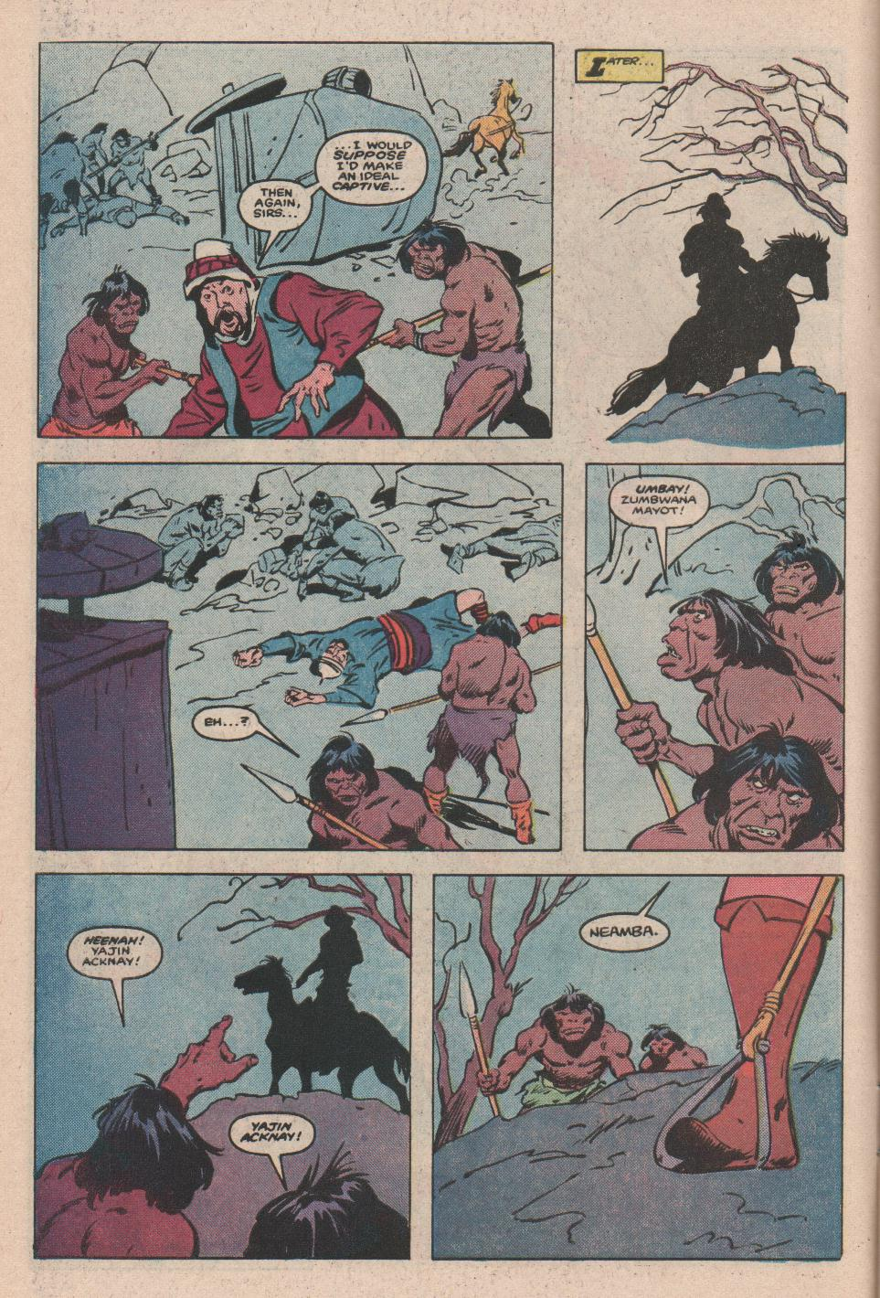 Conan the Barbarian (1970) Issue #172 #184 - English 5